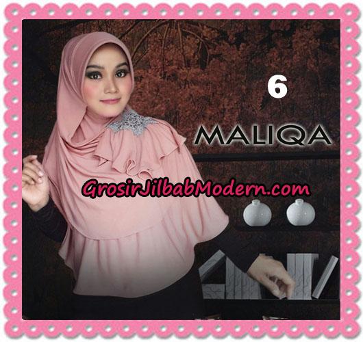 Jilbab Bergo Modis Syria Maliqa Original By Flow Idea No 6 Dusty Pink