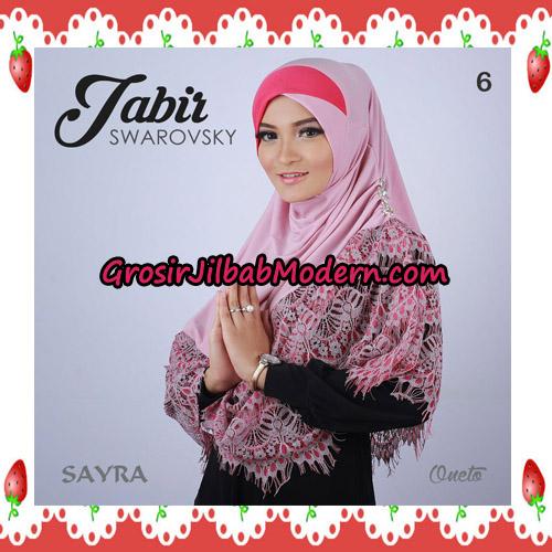 Jilbab Cantik Terbaru Jabir Swarovsky Original By Sayra No 6