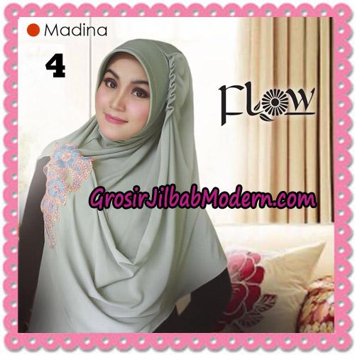 Jilbab Instant Bergo Syria Madina Trendy Original By Flow Idea Brand No 4 Hijau