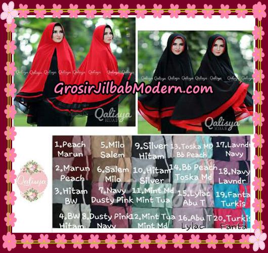 Jilbab Instant Khimar Syar'i Shakila XXL Pet Original By Qalisya Brand Series
