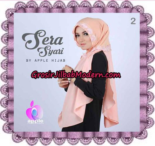 Jilbab Instant Sera Syar'i Cantik Original By Apple Hijab Brand No 2 Salem