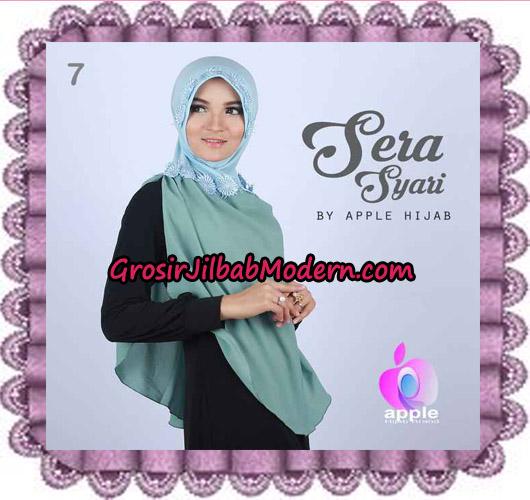 Jilbab Instant Sera Syar'i Cantik Original By Apple Hijab Brand No 7 Babe Tosca
