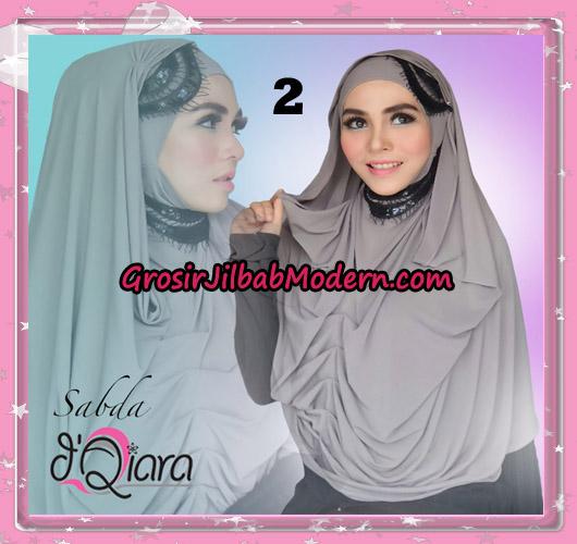 Jilbab Modern Instant Modis Sabda Original By D'qiara Brand No 2