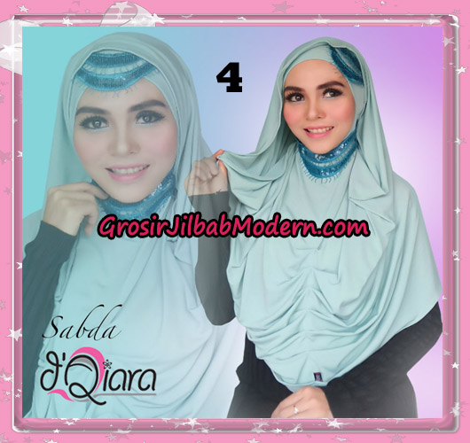 Jilbab Modern Instant Modis Sabda Original By D'qiara Brand No 4