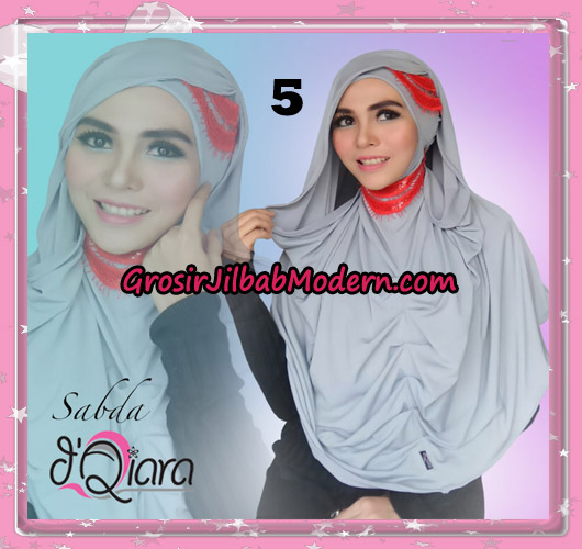 Jilbab Modern Instant Modis Sabda Original By D'qiara Brand No 5
