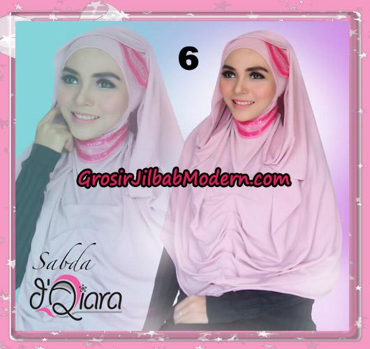 Jilbab Modern Instant Modis Sabda Original By D'qiara Brand No 6