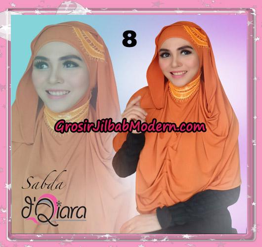 Jilbab Modern Instant Modis Sabda Original By D'qiara Brand No 8