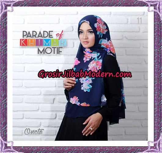 Jilbab Parade Of Khimar Motif Tanpa Pet Support By Oneto No 11