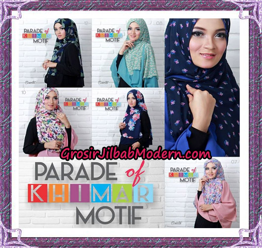 Jilbab Parade Of Khimar Motif Tanpa Pet Support By Oneto No 7 - 12