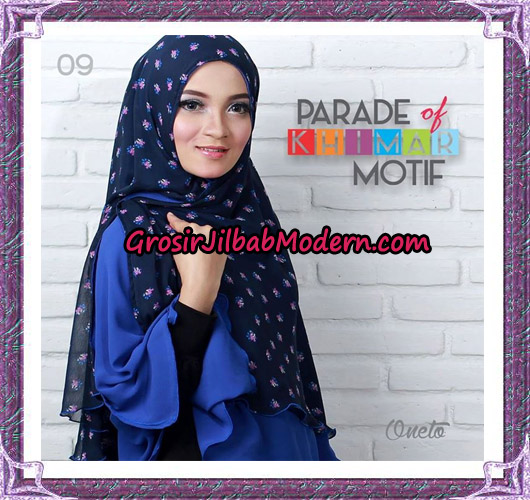 Jilbab Parade Of Khimar Motif Tanpa Pet Support By Oneto No 9