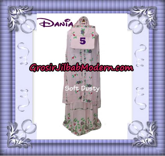 Mukena Bali Cantik Motif Dania No 5 - Soft Dusty
