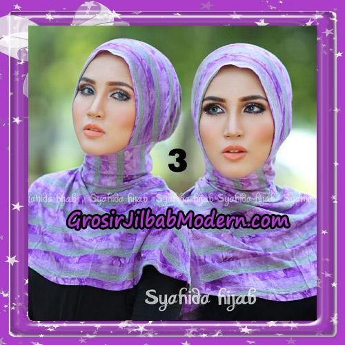 Dalaman Jilbab Ninja Anti Tembem ( Antem ) Lorek Original By Syahida Hijab Brand No 3