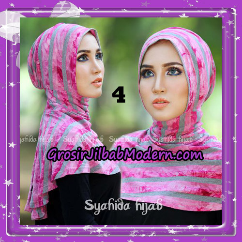 Dalaman Jilbab Ninja Anti Tembem ( Antem ) Lorek Original By Syahida Hijab Brand No 4