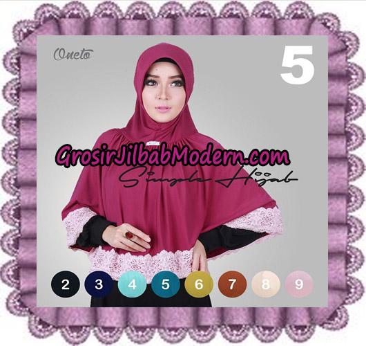 Jilbab Instant Bergo Simple Hijab Seri 5 Support By Oneto Hijab