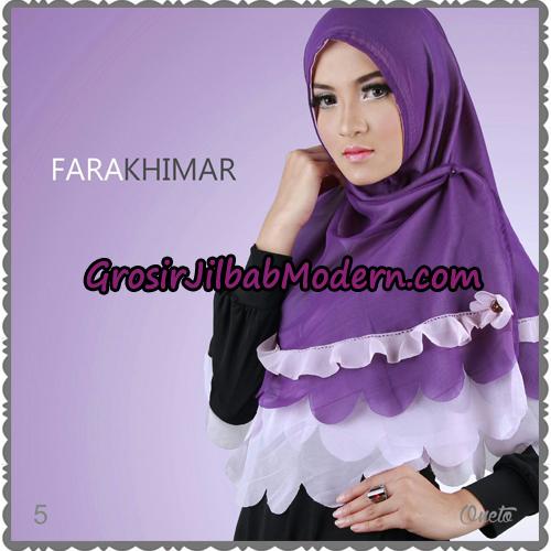 Jilbab Instant Cerutti Cantik Fara Khimar Support By Oneto Hijab No 5
