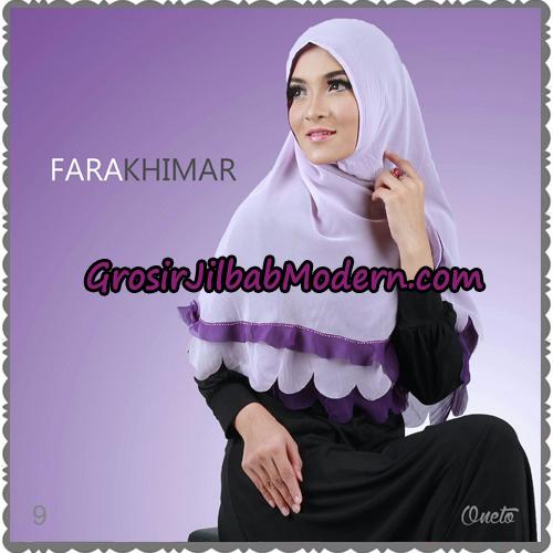 Jilbab Instant Cerutti Cantik Fara Khimar Support By Oneto Hijab No 9