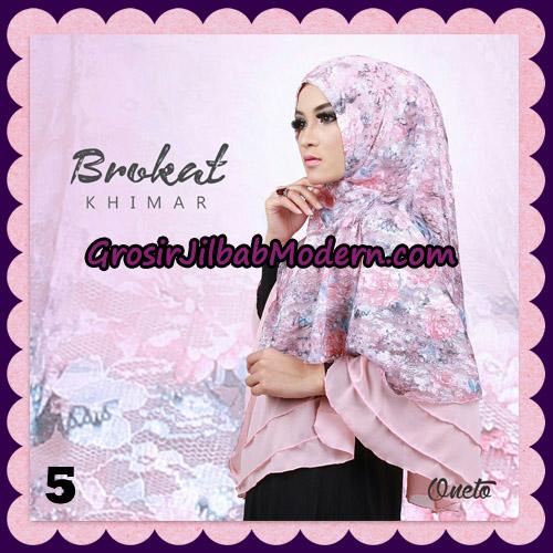 Jilbab Instant Khimar Brokat Cantik Support By Oneto Hijab No 5
