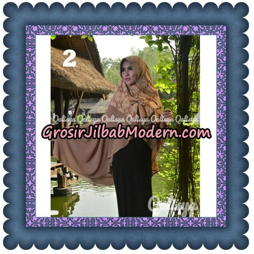 Jilbab Instant Khimar Sabqa Brukat Syar'i Trendy Original By Qalisya Brand No 2