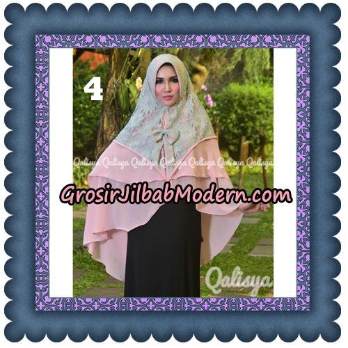 Jilbab Instant Khimar Sabqa Brukat Syar'i Trendy Original By Qalisya Brand No 4