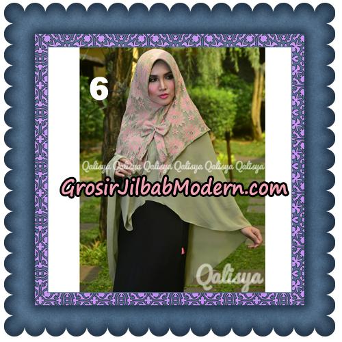 Jilbab Instant Khimar Sabqa Brukat Syar'i Trendy Original By Qalisya Brand No 6