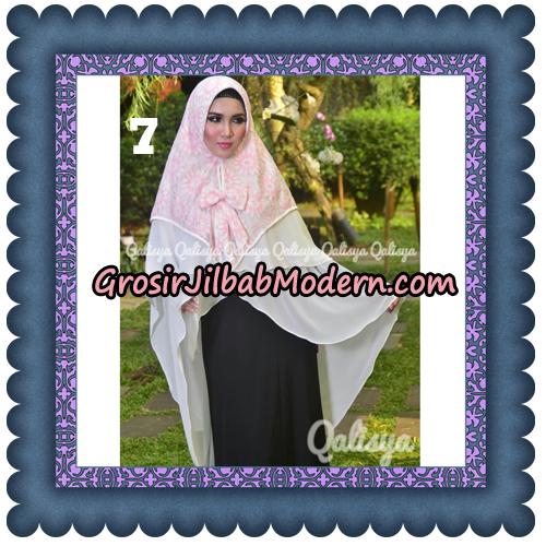 Jilbab Instant Khimar Sabqa Brukat Syar'i Trendy Original By Qalisya Brand No 7