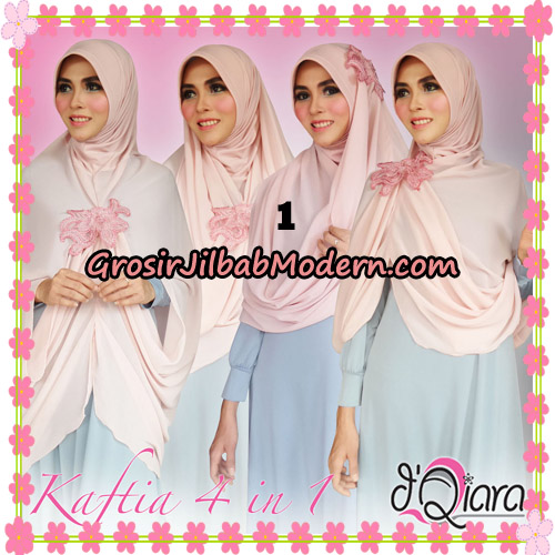 Jilbab Instant Modis 4 In 1 Kaftia Multi Fungsi Original By d'Qiara Hijab Brand No 1