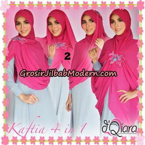 Jilbab Instant Modis 4 In 1 Kaftia Multi Fungsi Original By d'Qiara Hijab Brand No 2