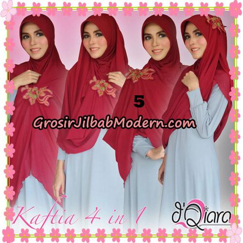 Jilbab Instant Modis 4 In 1 Kaftia Multi Fungsi Original By d'Qiara Hijab Brand No 5