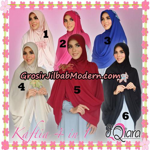 Jilbab Instant Modis 4 In 1 Kaftia Multi Fungsi Original By d'Qiara Hijab Brand