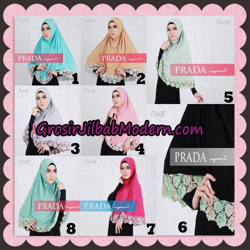 Jilbab Instant Prada Jumbo Syar'i Mawar Support By Oneto Hijab Series