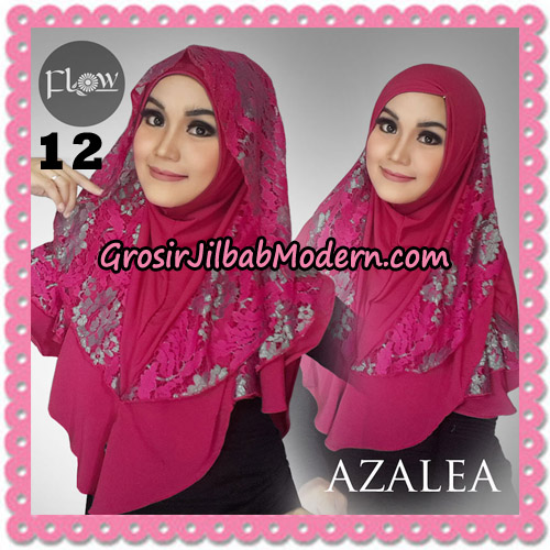 Jilbab Instant Trendy Cantik Syria Azalea Original By Flow Idea Brand No 12 Fanta