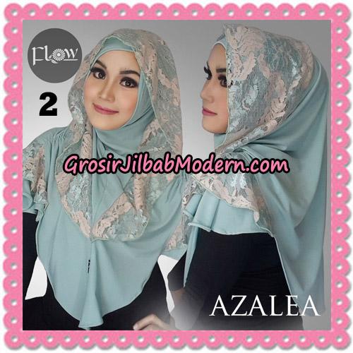 Jilbab Instant Trendy Cantik Syria Azalea Original By Flow Idea Brand No 2 Mint
