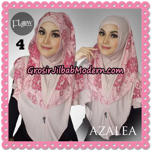 Jilbab Instant Trendy Cantik Syria Azalea Original By Flow Idea Brand No 4 Baby Pink