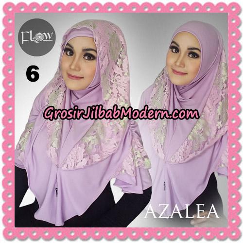 Jilbab Instant Trendy Cantik Syria Azalea Original By Flow Idea Brand No 6 Baby Ungu