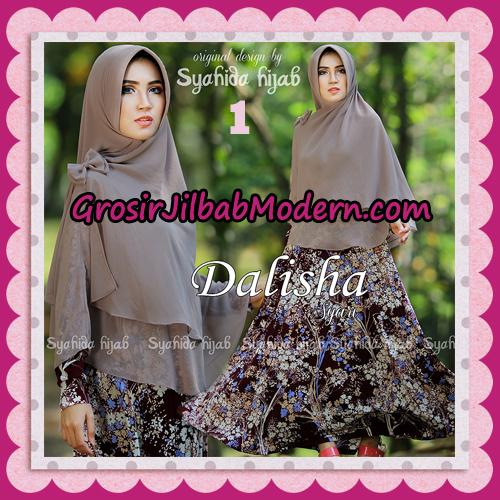 Setelan Busana Muslim Modis Dan Syar'i Gamis Dalisha Original By Syahida Hijab Brand No 1