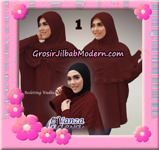 Jilbab Bergo Lengan Vanza Original By Fadeya Brand No 1