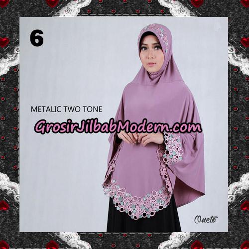 Jilbab Bergo Metalic Two Tone Support By Oneto Hijab No 6