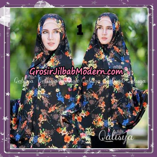 Jilbab Cantik Basic Khimar Motif Original by Qalisya Brand No 1