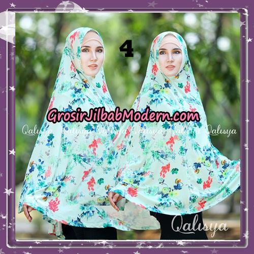 Jilbab Cantik Basic Khimar Motif Original by Qalisya Brand No 4