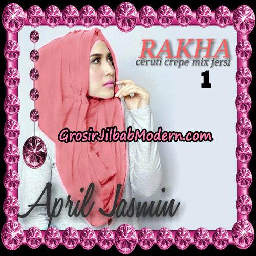 Jilbab Hoodie Instant Cantik Ala April Jasmine Original By Rakha Hijab Brand Brand No 1