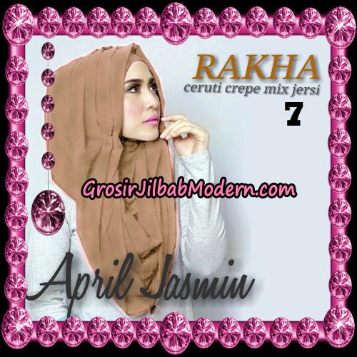 Jilbab Hoodie Instant Cantik Ala April Jasmine Original By Rakha Hijab Brand NO 7