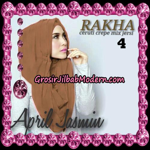 Jilbab Hoodie Instant Cantik Ala April Jasmine Original By Rakha Hijab Brand No 4