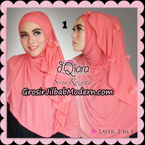 Jilbab Instant Syria Rozana Original By d'Qiara Hijab Brand No 1 Salem Tua
