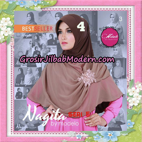 Jilbab Instant Trendy Nagita Seri 5 Original by Modelo Series No 4