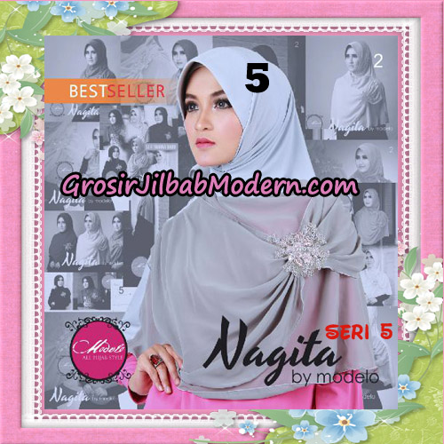 Jilbab Instant Trendy Nagita Seri 5 Original by Modelo Series No 5