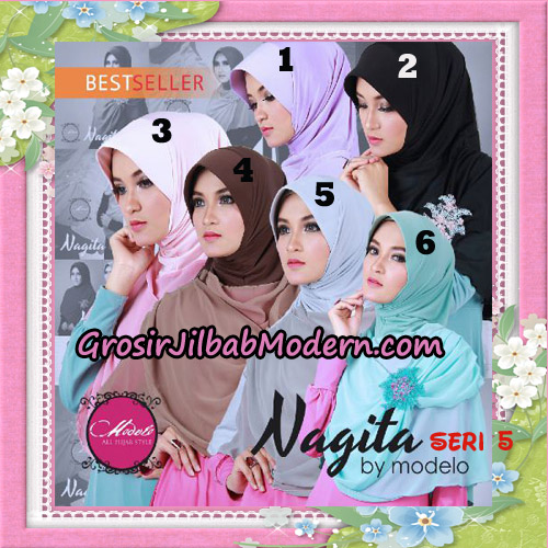 Jilbab Instant Trendy Nagita Seri 5 Original by Modelo