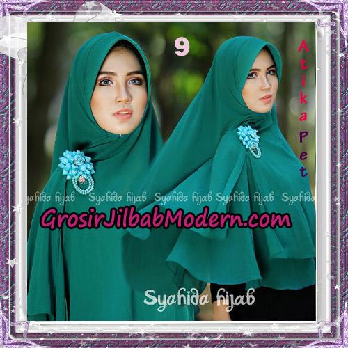 Jilbab Khimar Cerutti Syar'i Atika Pet Original By Syahida Hijab Brand No 9