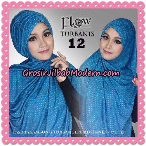 Jilbab Pasiria Turbanis Cantik Original by Flow Idea No 12