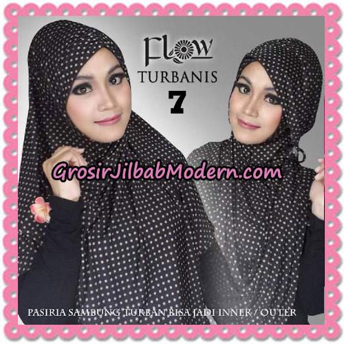 Jilbab Pasiria Turbanis Cantik Original by Flow Idea No 7