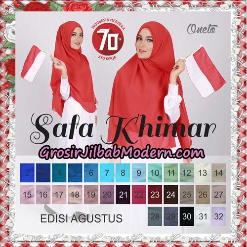 Jilbab Polos 2 Lapis Safa Khimar Support By Oneto Hijab